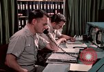 Image of NORAD combat operation in 1970s Colorado Springs Colorado USA, 1972, second 32 stock footage video 65675072878