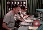 Image of NORAD combat operation in 1970s Colorado Springs Colorado USA, 1972, second 33 stock footage video 65675072878