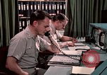 Image of NORAD combat operation in 1970s Colorado Springs Colorado USA, 1972, second 36 stock footage video 65675072878