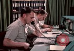 Image of NORAD combat operation in 1970s Colorado Springs Colorado USA, 1972, second 37 stock footage video 65675072878
