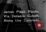 Image of Denver and Rio Grande Western train Colorado United States USA, 1934, second 28 stock footage video 65675072882