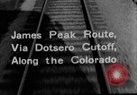 Image of Denver and Rio Grande Western train Colorado United States USA, 1934, second 29 stock footage video 65675072882