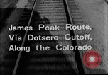 Image of Denver and Rio Grande Western train Colorado United States USA, 1934, second 30 stock footage video 65675072882