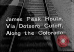Image of Denver and Rio Grande Western train Colorado United States USA, 1934, second 31 stock footage video 65675072882