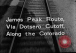 Image of Denver and Rio Grande Western train Colorado United States USA, 1934, second 34 stock footage video 65675072882