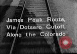 Image of Denver and Rio Grande Western train Colorado United States USA, 1934, second 35 stock footage video 65675072882