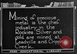 Image of gold panning Leadville Colorado USA, 1922, second 9 stock footage video 65675072890