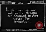 Image of gold panning Leadville Colorado USA, 1922, second 30 stock footage video 65675072890