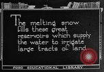 Image of gold panning Leadville Colorado USA, 1922, second 44 stock footage video 65675072890