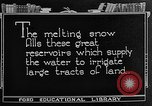 Image of gold panning Leadville Colorado USA, 1922, second 45 stock footage video 65675072890