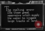 Image of gold panning Leadville Colorado USA, 1922, second 46 stock footage video 65675072890
