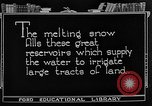 Image of gold panning Leadville Colorado USA, 1922, second 51 stock footage video 65675072890