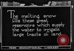 Image of gold panning Leadville Colorado USA, 1922, second 52 stock footage video 65675072890