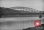 Image of Ludendorff Bridge Remagen Germany, 1945, second 7 stock footage video 65675072903