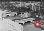 Image of Autogyro delivers mail to top of Post Office building United States USA, 1935, second 4 stock footage video 65675072921