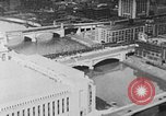 Image of Autogyro delivers mail to top of Post Office building United States USA, 1935, second 5 stock footage video 65675072921