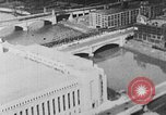 Image of Autogyro delivers mail to top of Post Office building United States USA, 1935, second 7 stock footage video 65675072921