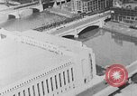 Image of Autogyro delivers mail to top of Post Office building United States USA, 1935, second 8 stock footage video 65675072921