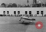 Image of Autogyro delivers mail to top of Post Office building United States USA, 1935, second 15 stock footage video 65675072921