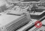 Image of Autogyro delivers mail to top of Post Office building United States USA, 1935, second 25 stock footage video 65675072921