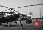 Image of Pitcairn autogyro United States USA, 1929, second 46 stock footage video 65675072927