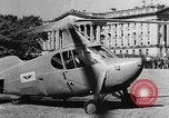 Image of aerobile autogiro demonstration at National Mall Washington DC USA, 1936, second 10 stock footage video 65675072939