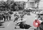 Image of aerobile autogiro demonstration at National Mall Washington DC USA, 1936, second 30 stock footage video 65675072939