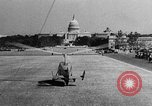 Image of aerobile autogiro demonstration at National Mall Washington DC USA, 1936, second 39 stock footage video 65675072939