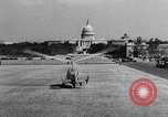 Image of aerobile autogiro demonstration at National Mall Washington DC USA, 1936, second 40 stock footage video 65675072939