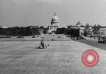 Image of aerobile autogiro demonstration at National Mall Washington DC USA, 1936, second 42 stock footage video 65675072939