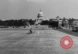 Image of aerobile autogiro demonstration at National Mall Washington DC USA, 1936, second 43 stock footage video 65675072939