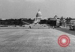 Image of aerobile autogiro demonstration at National Mall Washington DC USA, 1936, second 45 stock footage video 65675072939