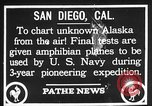 Image of amphibian aircraft San Diego California USA, 1928, second 2 stock footage video 65675072949