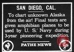 Image of amphibian aircraft San Diego California USA, 1928, second 4 stock footage video 65675072949