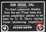 Image of amphibian aircraft San Diego California USA, 1928, second 5 stock footage video 65675072949