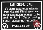 Image of amphibian aircraft San Diego California USA, 1928, second 6 stock footage video 65675072949