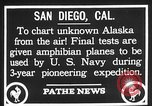 Image of amphibian aircraft San Diego California USA, 1928, second 7 stock footage video 65675072949