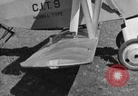 Image of biplane landing United States USA, 1928, second 14 stock footage video 65675072950