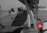 Image of biplane landing United States USA, 1928, second 19 stock footage video 65675072950