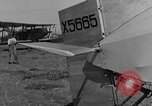 Image of biplane landing United States USA, 1928, second 23 stock footage video 65675072950