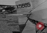 Image of biplane landing United States USA, 1928, second 24 stock footage video 65675072950