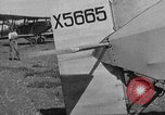 Image of biplane landing United States USA, 1928, second 25 stock footage video 65675072950
