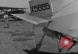 Image of biplane landing United States USA, 1928, second 26 stock footage video 65675072950