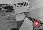 Image of biplane landing United States USA, 1928, second 28 stock footage video 65675072950