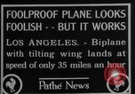 Image of biplane Los Angeles California USA, 1928, second 5 stock footage video 65675072951