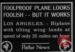 Image of biplane Los Angeles California USA, 1928, second 7 stock footage video 65675072951