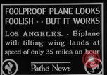 Image of biplane Los Angeles California USA, 1928, second 9 stock footage video 65675072951