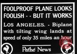 Image of biplane Los Angeles California USA, 1928, second 12 stock footage video 65675072951