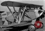 Image of biplane Los Angeles California USA, 1928, second 13 stock footage video 65675072951