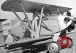 Image of biplane Los Angeles California USA, 1928, second 22 stock footage video 65675072951